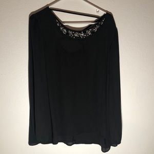 Maurice's Black Blouse